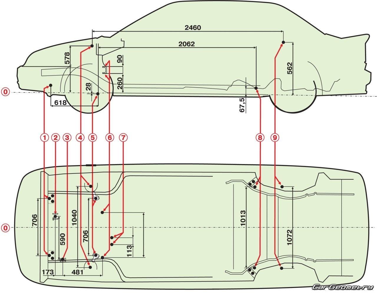Схема передка ваз 2115