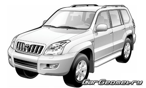 Toyota land cruiser prado 120.