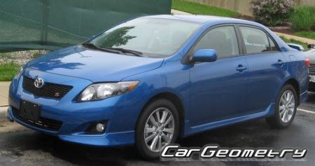 ������� ������ Toyota Corolla 2009-2013 (������ AZE141 ZRE142) Collision Repair Manual