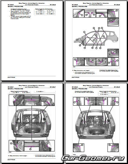 Геометрические Размеры Кузова Ваз 21213