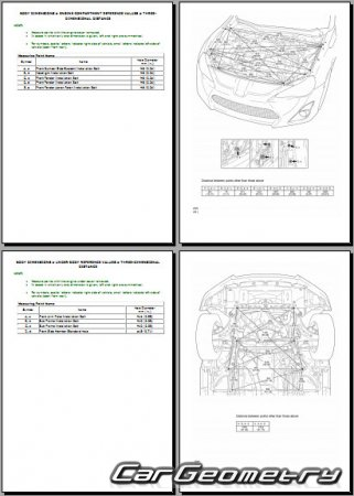 Subaru BRZ с 2012 Body Repair Manual