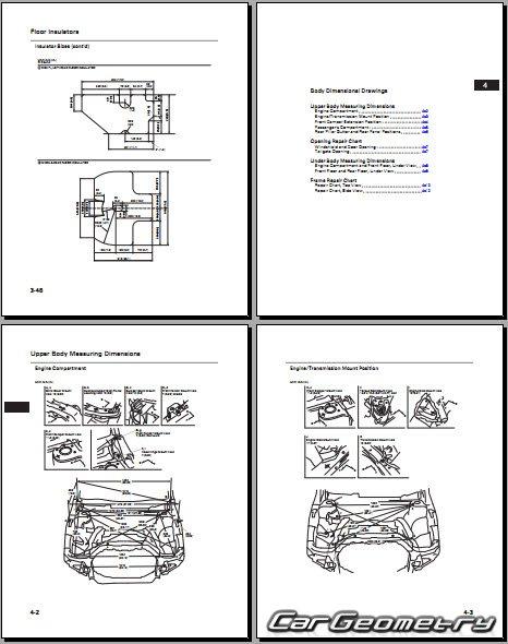 honda cr v 2007 2011 body repair manual. Black Bedroom Furniture Sets. Home Design Ideas