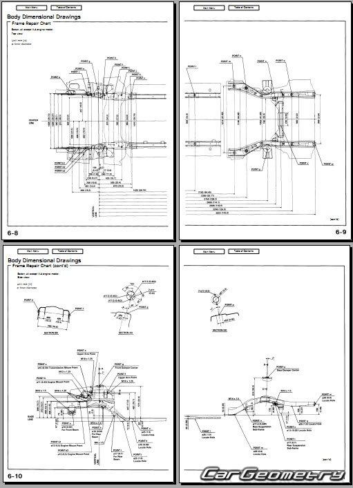 Хонда аккорд 1998 схемы