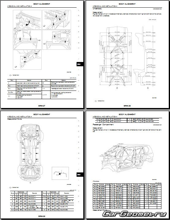 nissan x trail t31 2007 2013 body repair manual. Black Bedroom Furniture Sets. Home Design Ideas