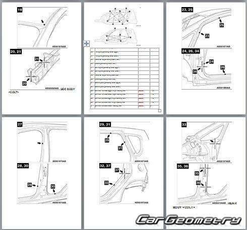 Mitsubishi Colt/Cz3/Czt Руководство По Ремонту И Эксплуатации