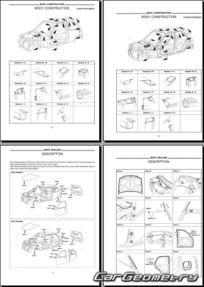 Nissan Micra Dimensions http://cargeometry.com/body-dimensions/603-kontrolnye-razmery-kuzova-nissan-micra-march-k11-19932002-body-repair-manual.html