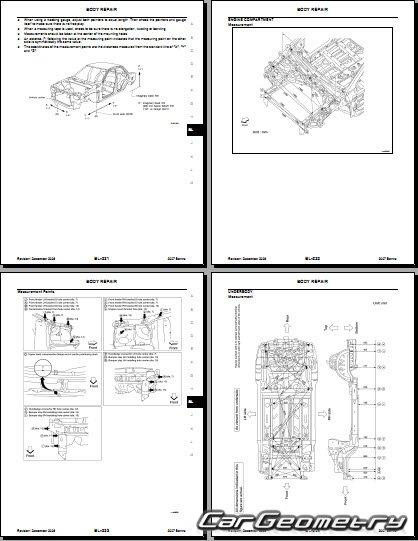 nissan sentra b16 2007 2012 body repair. Black Bedroom Furniture Sets. Home Design Ideas