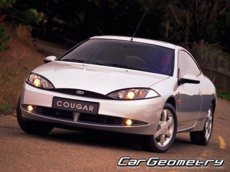руководство по ремонту ford cougar