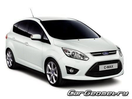 Размеры кузова Ford C-MAX с