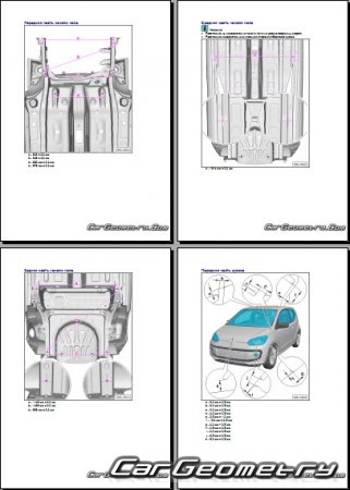 Volkswagen Up! (121) 2012-2018 Body dimensions