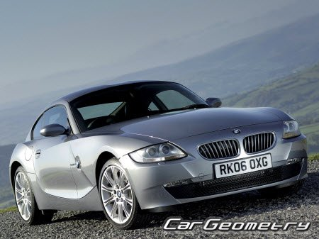 BMW Z4 (E85) Roadster  2003-2009 и BMW Z4 (E86) Coupe 2006-2009