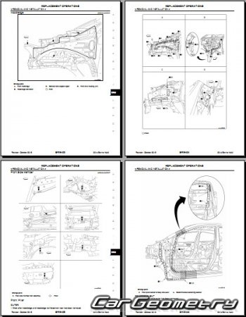 Nissan Sentra (B17) 2013-2018 Body Repair Manual
