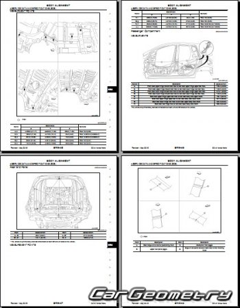 Nissan Versa Note (E12) 2013-2019 Body Repair Manual