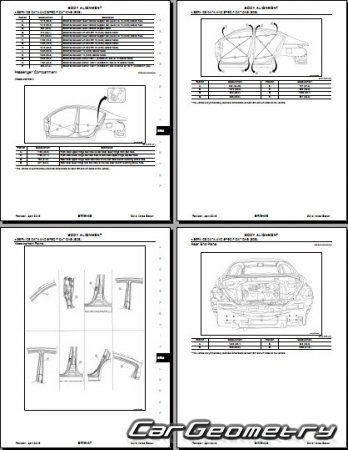 Nissan Versa Sedan (N17) 2012-2018 Body Repair Manual