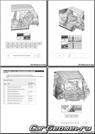 Toyota AYGO II с 2014 (KGB40, PAB40)  Collision Repair Manual