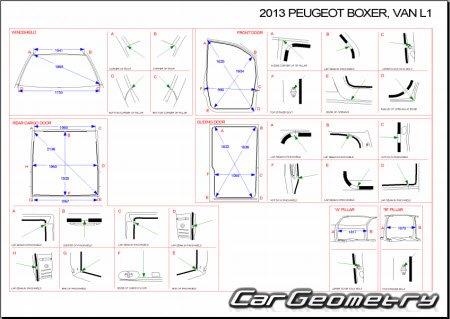 Peugeot boxer van 2006 2014 lwb nwb for Peugeot boxer dimensions interieures