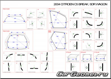 Citroen C5 2001–2004 (5DR и 5DR Break)