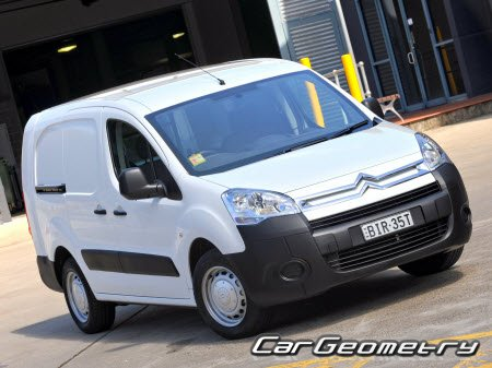 Citroen Berlingo Van (Short, Long Edition) 2008–2016