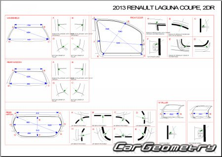 renault laguna iii 2008 2014 body dimensions. Black Bedroom Furniture Sets. Home Design Ideas