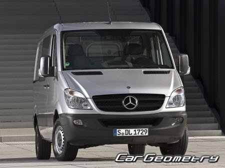 Mercedes Sprinter VAN (Type 906) 2006–2016