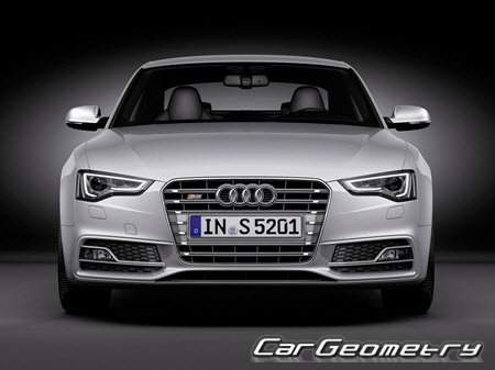 Audi S5 Coupe 2007-2014