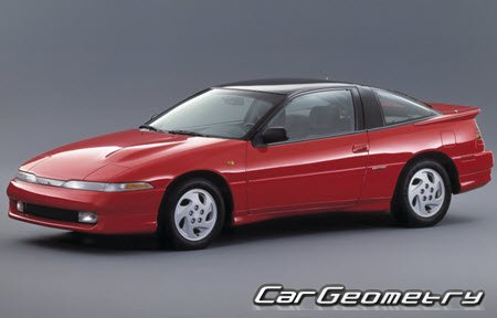 Mitsubishi Eclipse I 1989-1995 Body Repair Manual