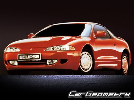 Mitsubishi Eclipse II 1995-2000 Body Repair Manual