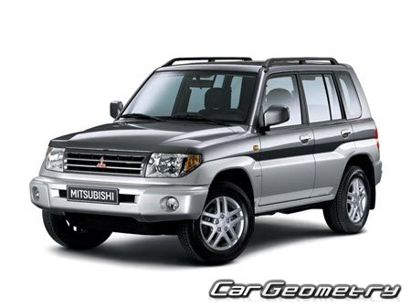 Mitsubishi Pajero Pinin 2000–2005 Body Repair Manual
