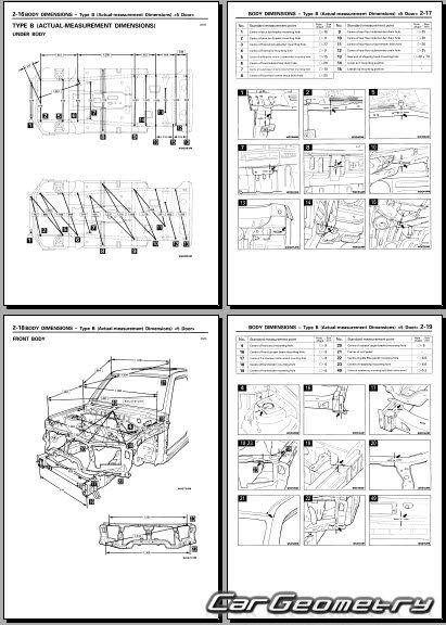 mitsubishi pajero pinin 2000 2005 body repair manual mitsubishi pajero pinin service manual Maserati Pininfarina