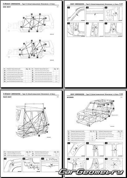 mitsubishi pajero pinin 2000 2005 body repair manual pajero pinin service manual Maserati Pininfarina