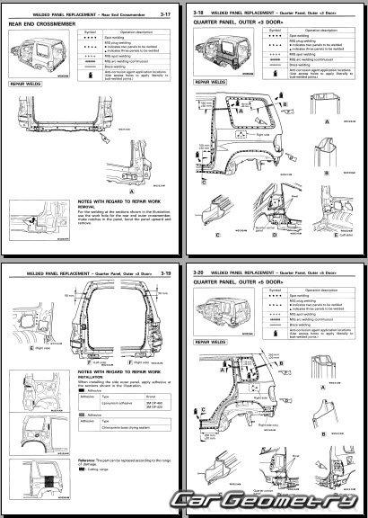 мицубиси паджеро пинин инструкция по эксплуатации