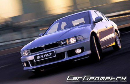 Mitsubishi Galant 1997–2005 (Sedan и Wagon) Body Repair Manual