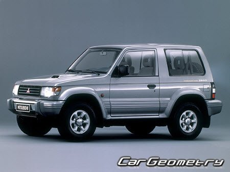 Mitsubishi Pajero II 1991–1999 Body Repair Manual