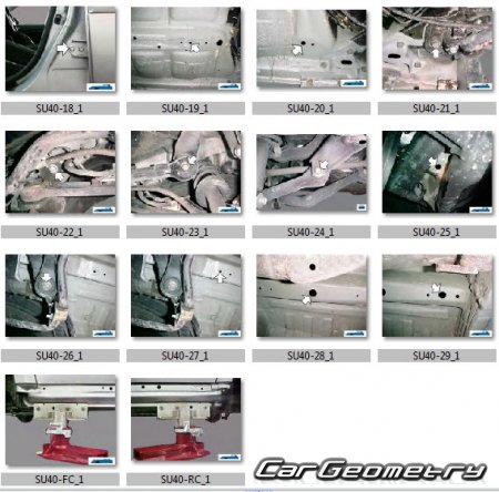 Subaru Legacy 2004-2009 (Sedan BL, Wagon BP) и Subaru Outback (BP)