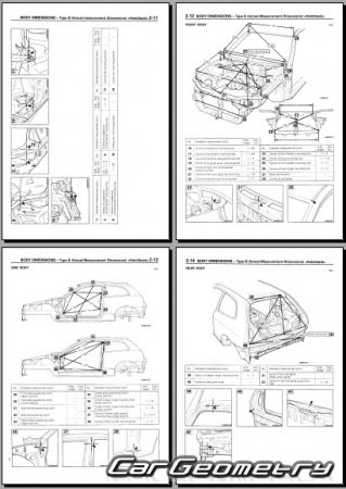 Mitsubishi Colt 1996–2002 Body Repair Manual