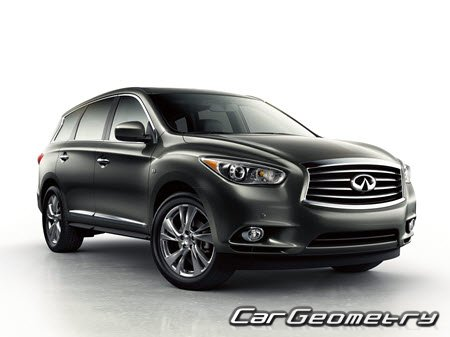 Infiniti QX60 (L50) 2014-2018 Body Repair Manual