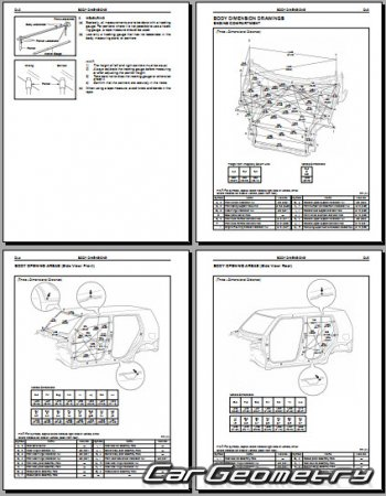 Scion xB (AZE151) 2008-2015 Collision Repair Manual