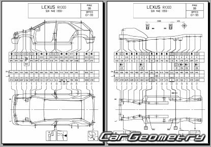 171599896007 besides 1999 Lexus Rx300 Engine Diagram in addition Toyota Airbag Control Module Location additionally Peterbilt 330 Fuse Box likewise 701127 Rx330 Suspension Subframe Bolts Torque Specs Needed. on 2003 lexus rx330