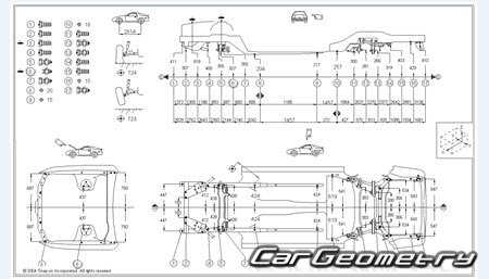 Lexus LS400 (UCF10) 1989–1994 Collision Repair Manual