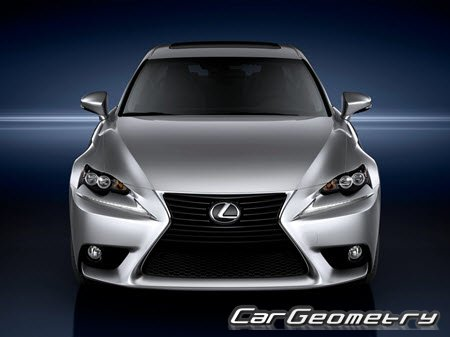 Lexus IS350 IS250 (включая F-Sport) 2013-2016 (GSE30' GSE31' GSE35' GSE36)