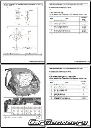 Lexus NX200t, NX200, NX300 2015-2021 Collision Repair Manual