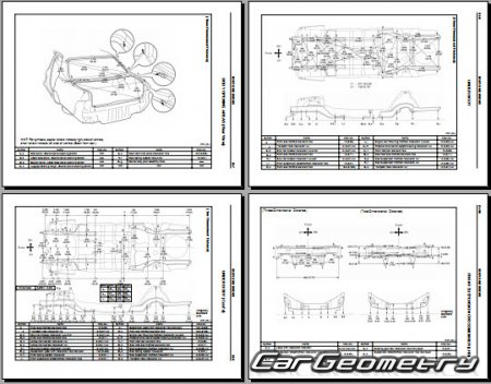 Lexus LS400 (UCF20) 1995–2000 Collision Repair Manual