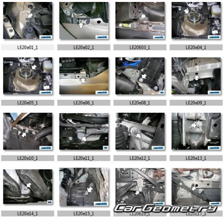 Lexus IS300C, IS250C 2009-2015 (GSE20, GSE21, GSE22) Collision Repair Manual