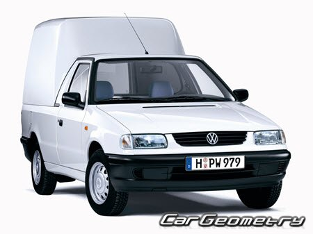 Volkswagen Caddy (Type 9K) 1995–2004