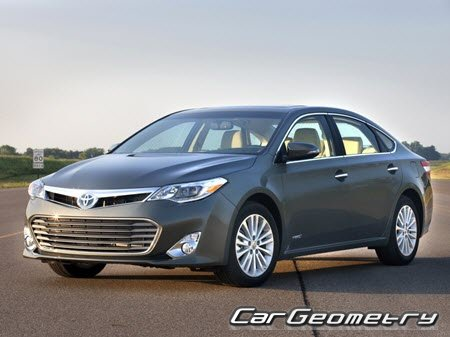 Toyota Avalon Hybrid 2013-2015 Collision Repair Manual