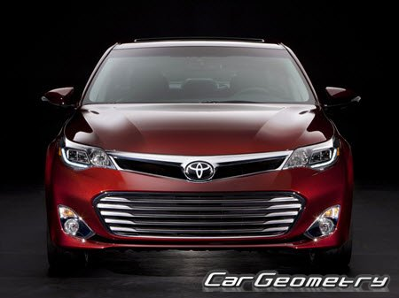 Toyota Avalon (GSX40) 2013-2015 Collision Repair Manual