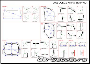 Dodge Nitro 2007-2011 Collision Repair Manual