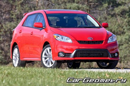 Toyota Matrix S/XRS 2009-2014 (AZE141, AZE144, AZE146, ZRE142) Collision Repair Manual