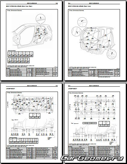 toyota rush j200le 2006 2009 collision repair manual rh cargeometry com Toyota Wiring Diagrams Toyota Parts