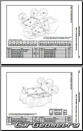 Toyota Celica (AT200, ST200) 1994-1999 Collision Repair Manual